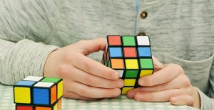 Magic cube patience and concentration